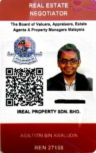 kad ejen hartanah berdaftar