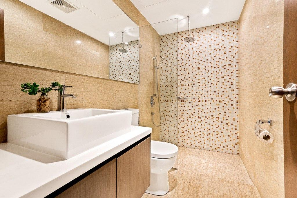 regalia residence studio bathroom